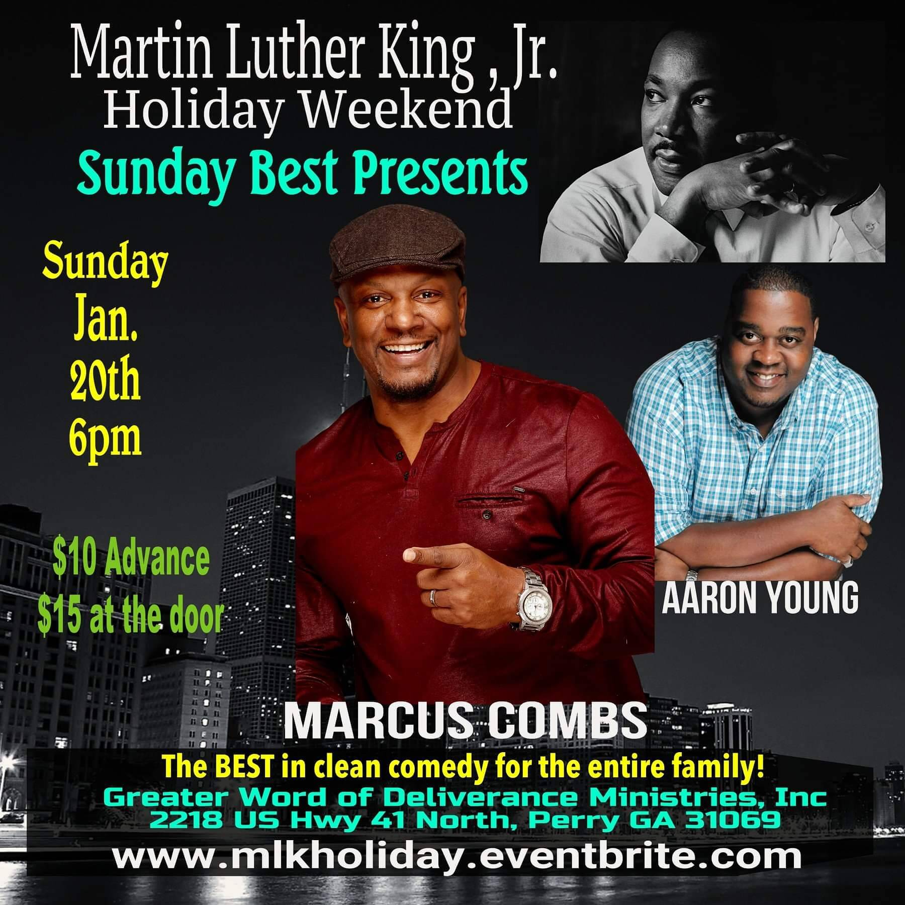 Sunday Best Presents: Marcus Combs & Aaron Young