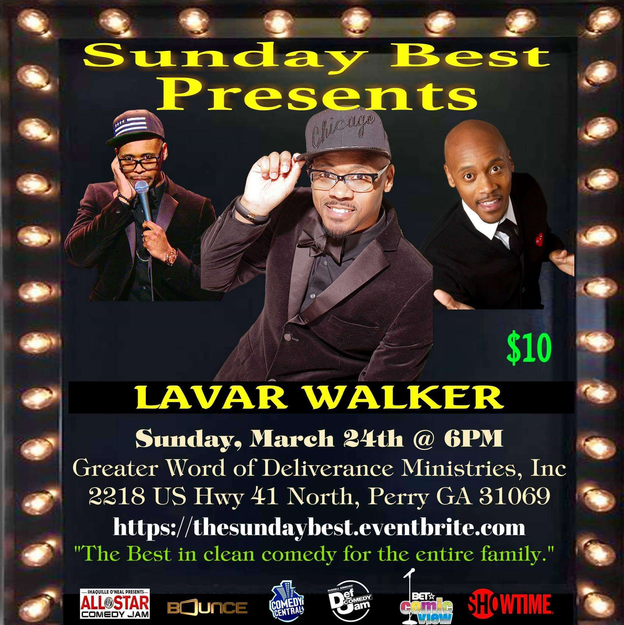 Sunday Best Presents: Lavar Walker