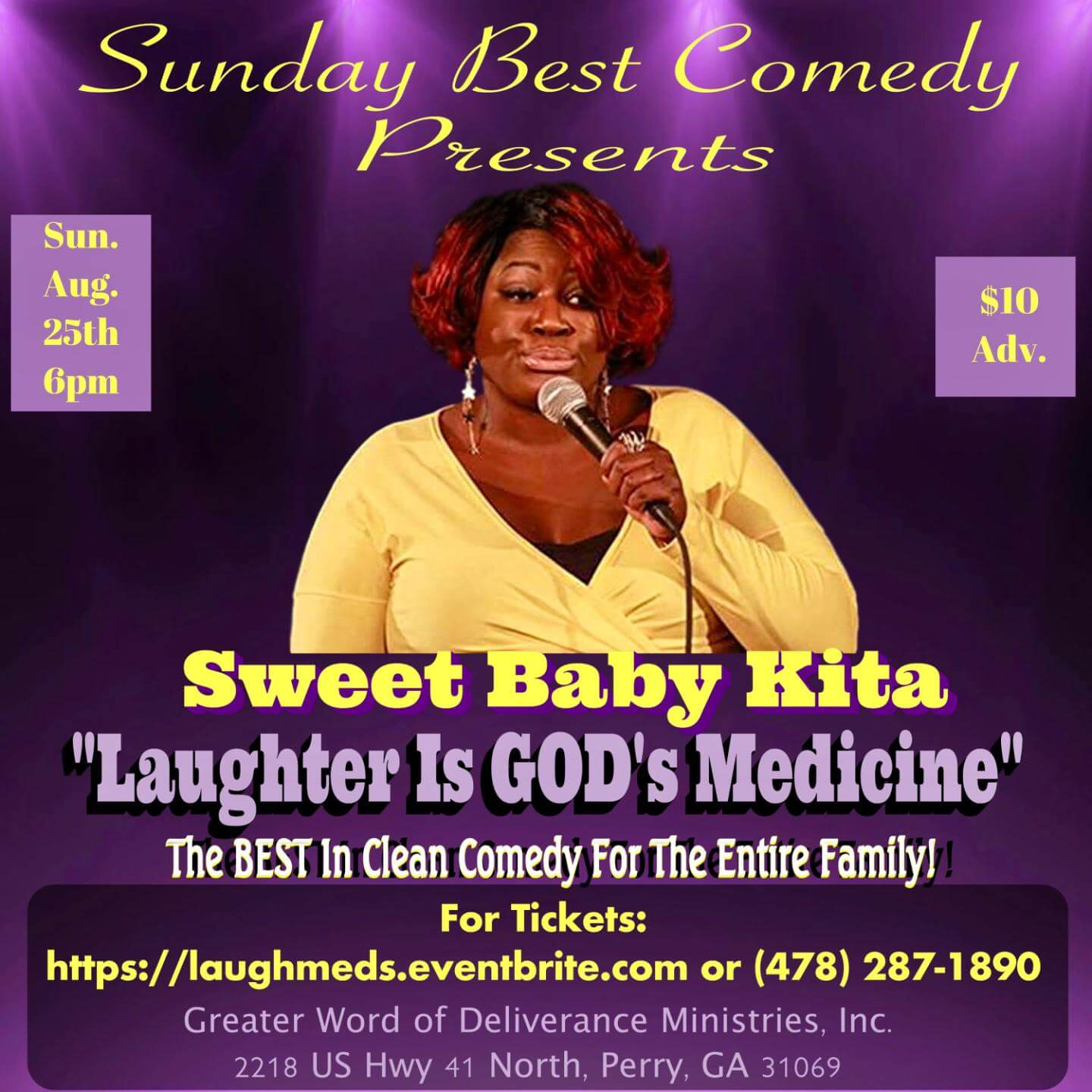 Sunday Best Presents: SWEET BABY KITA