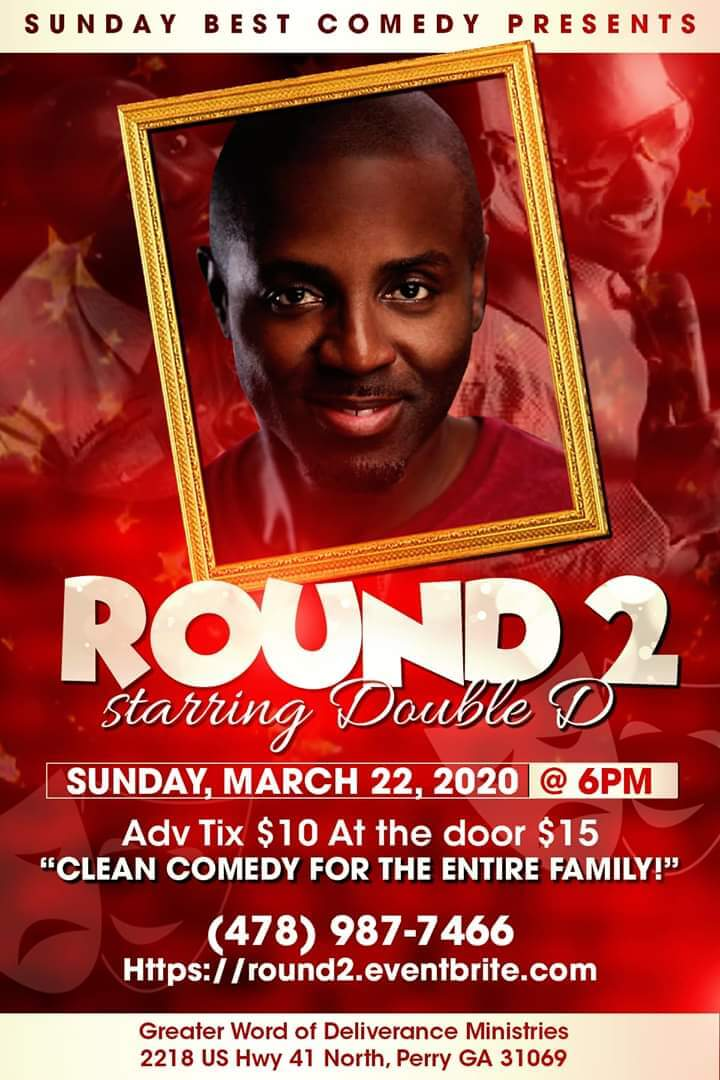 Sunday Best Comedy Presents: Comedian DOUBLE D
